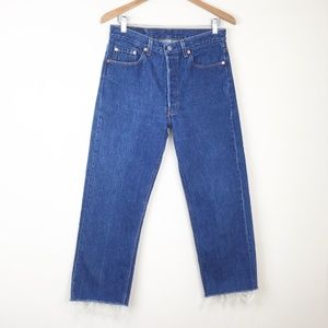 VTG 80s LEVIS 501XX Denim Jeans 31x26 USA MADE STF